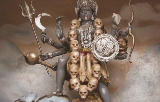 Культ богини Кали предполагал человеческие жертвы