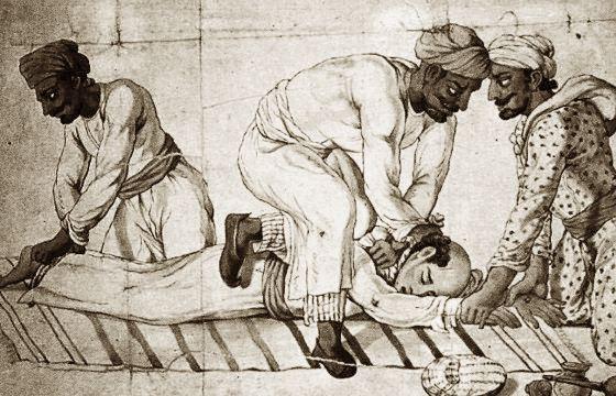 Туги-душители использовали платок
