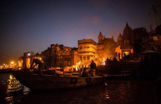 Varanasi funeral pyres