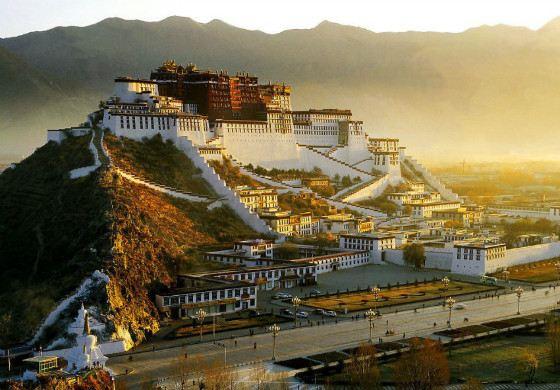 Potala Palace - the residence of the Dalai Lama