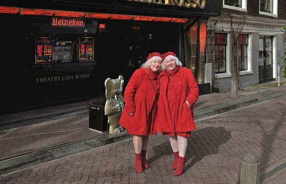 Многодетные мамы и самые опытные проститутки Амстердама