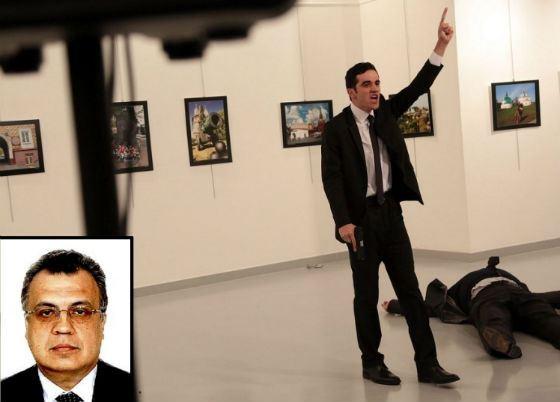 Застреливший Андрея Карлова террорист был гражданином Турции