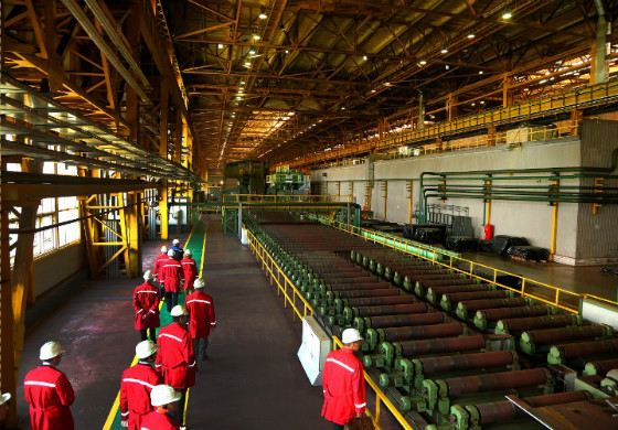 Ижорский завод основан в 1722 году по указу Петра I