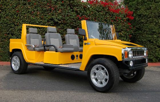 Exclusive Car Hummer Golf Cart