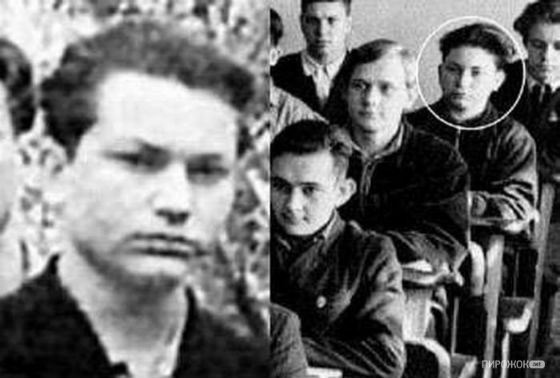 Yuri Luzhkov in his youth