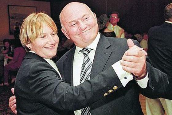 Yury Luzhkov and Elena Baturina