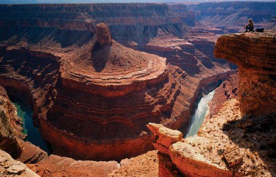 Великий каньон - один из глубочайших  в мире