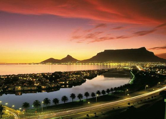 Cape Town - the twin city of St. Petersburg