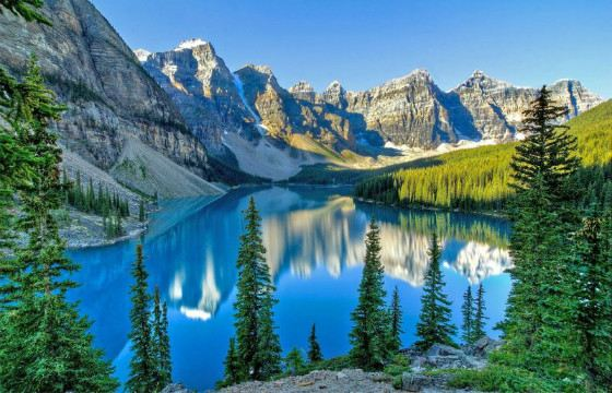 Canadian Rockies - part of the Pacific Cordillera