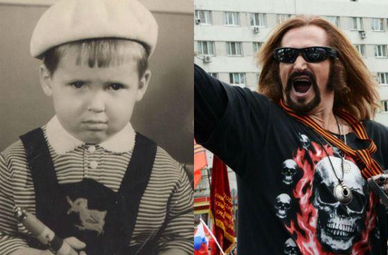 Никита Джигурда в детстве и сейчас