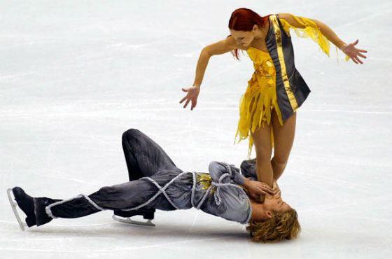 Джигурда и Анисина стали самой яркой парой «Танцев на льду»