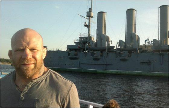 Джефф Монсон - американский и российский спортсмен