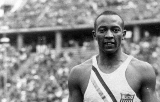 Легендарный спортсмен Джесси Оуэнс