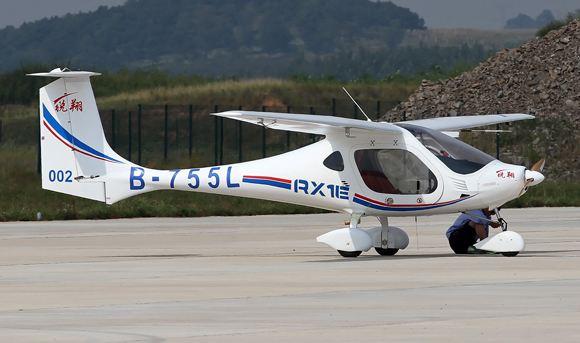 В КНР создали водородный самолет на базе самолета RX1E