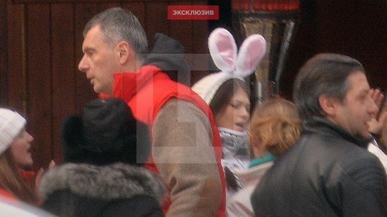Михаил Прохоров в Куршевеле