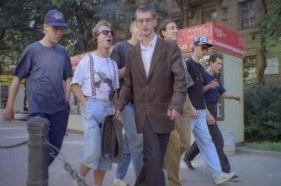 Константин Хабенский в фильме «На кого бог пошлет» (1994 год)