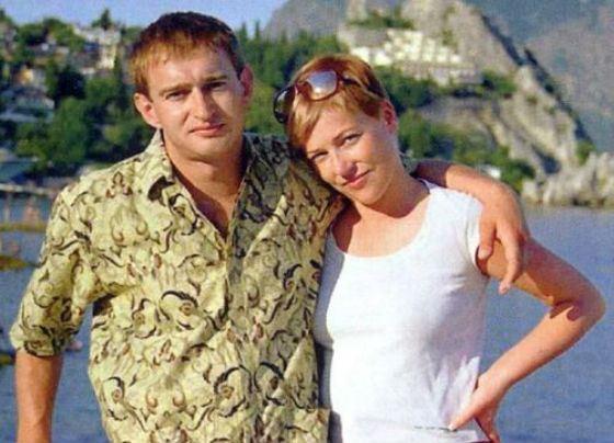 Константин и Анастасия Хабенские в молодости