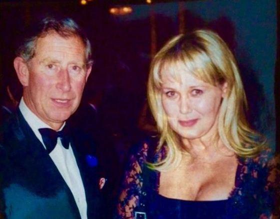 Prince Charles and Ludmila Bratash