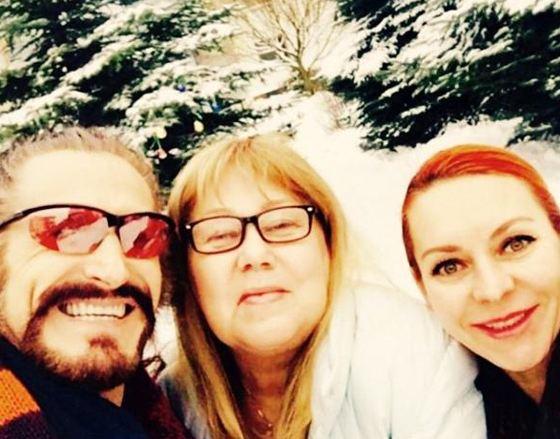 Nikita Dzhigurda, Lyudmila Bratash and Marina Anisina