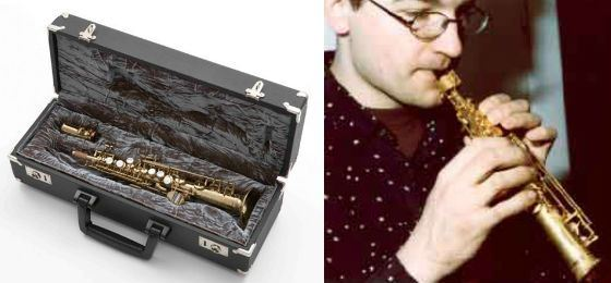 Bb Soprillo Sax is a regular musical instrument, not just a miniature copy