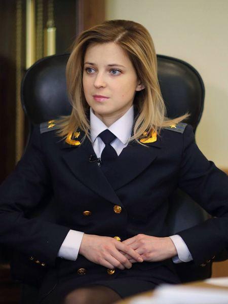 Наталья Поклонская демонстрирует себя голышом. Бесплатное онлайн видео и фото