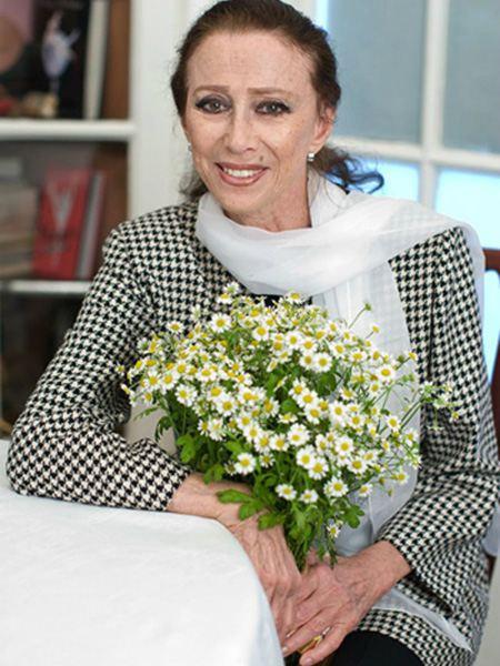 На фото:Майя Плисецкая